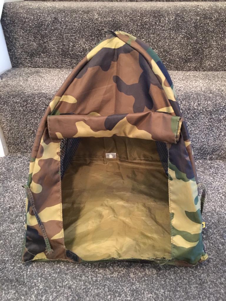 Build a bear army tent
