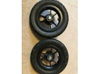 Babyjogger City Mini GT spare wheels - front and two rear