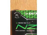 2 x Dunlop golf gloves