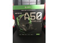 New Astro A50 Wireless Headset *2017 Edition