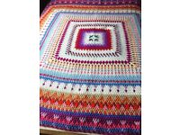 Granny throw / blanket