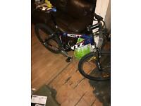 Scott Alloy 17 inch front suspension mountain bike for sale or swap