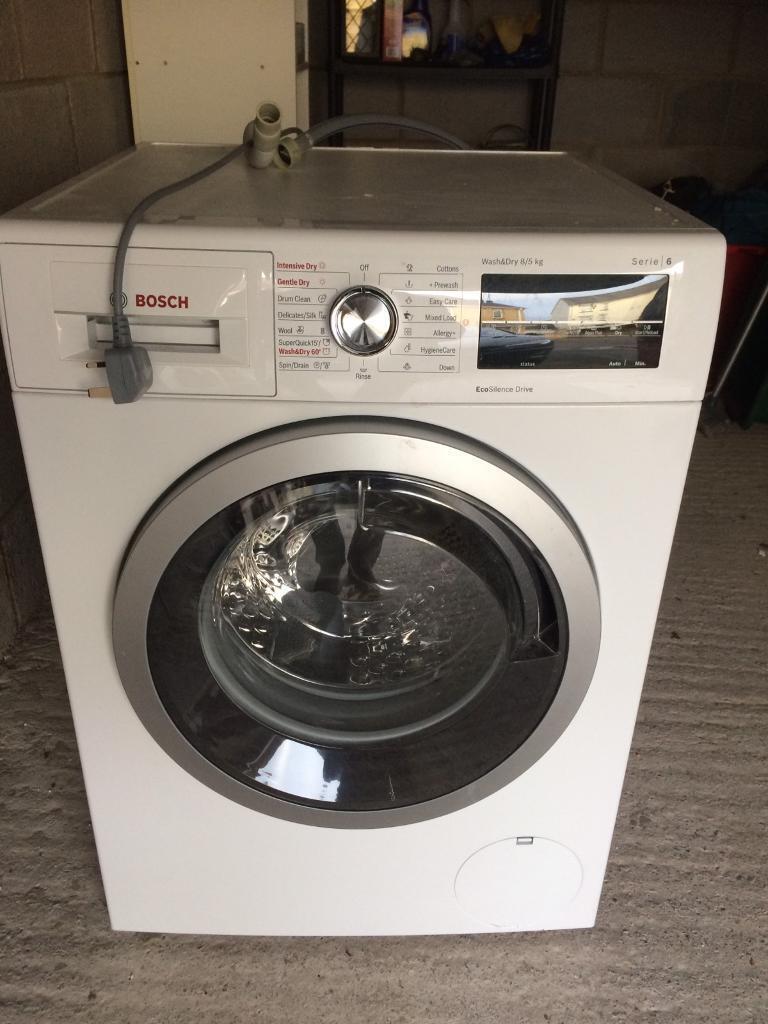 Bosch WVG30461GB washer dryer