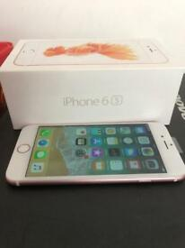 iPhone 6s Rose Gold Boxed 16Gb Unlocked