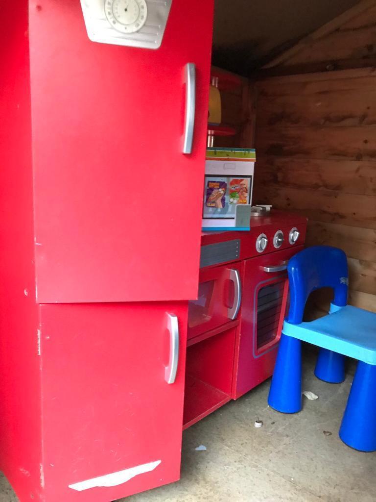 Red Elc Retro Kitchen In Newport Gumtree