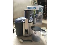 Philips HR1861 Whole Fruit Juicer. Aluminium. HARDLY USED