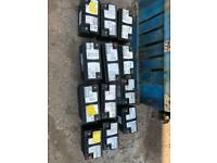 BMW CAR BATTERY VRLA AGM 12V 80AH800A 105AH 950A 90AH 900A ALL TYPES FROM STORAGE OR LITTLE USE