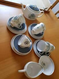 Suzie Cooper fine bone china tea set