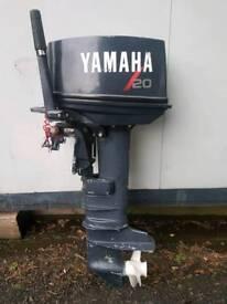 Yamaha 20 hp longshaft pull start