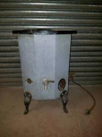 Vintage antique water heater