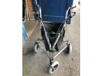 Days Tri Wheel Walkers with Loop Lockable Brakes.