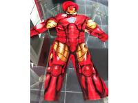 Ironman costume 2-3 years marvel avengers assemble edition