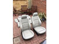 Bmw e92 coupe leather seats and door cards complete