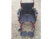 Self propelling wheel chair