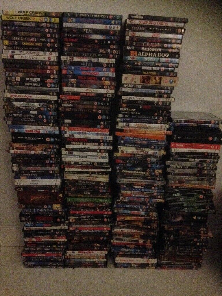 242 big mainstream / boxset dvd collection (various mainstream