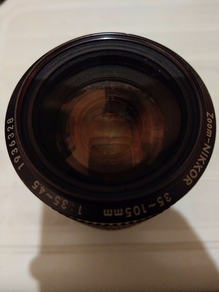 Nikon Ais 35-105 manual focus zoom lens.