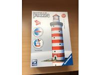3D Ravensburger Puzzle Lighthouse