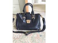 Dune large leather handbag/laptop bag