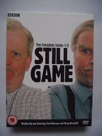BBC Scotland STILL GAME The Complete Series 1-5 DVD set - Excellent Condition