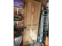 Victorian Oak door