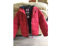 Fat Face Boys Winter Hooded Coat - 10-11yrs - Brand New
