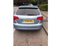 Audi A3 Sline Quattro climate control 18 inch alloys 56 plate but registered as 57 plate