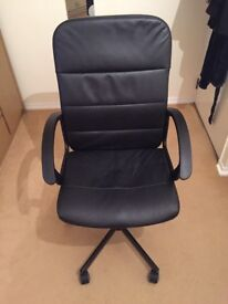 Swivel chair TORKEL Bomstad black