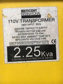 Power tool transformer