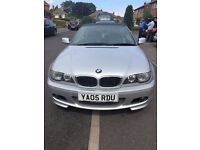 BMW 318 CL CONVERTABLE 2.0 SILVER 72K MILES SERVICE HISTORY MANUAL