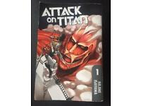 Attack on Titan volume 1