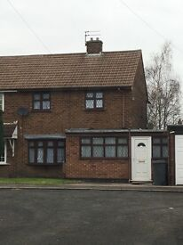 2 Bedroom Semi Detached House to Let Wedgwood Close Eastfield Wolverhampton WV1 2DA