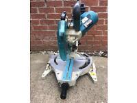 Makita LS1013L Dual compound sliding mitre saw with laser. 110v