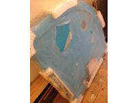 resinlite quadrant shower tray 900mm