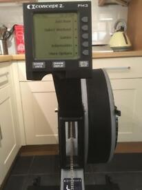 Concept 2 Rower / Rowing Machine With PM3 Monitor, Just Serviced