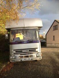 7.5 ton L reg Iveco 75E15 Horse Lorry
