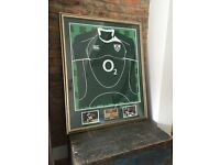 Signed Ireland Rugby Union Jersey 2007/08