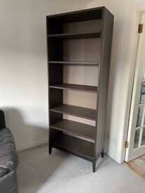 Dark Brown Library Cabinet For Sale