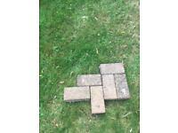 Patio paving bricks