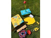 Swingball set - original 3 in 1 garden set, age 3+