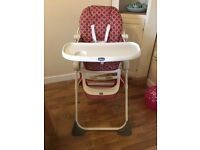 Chicco Highchair - Very good condition