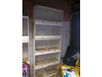 bird wooden breeding cages with drawers x 5 £80