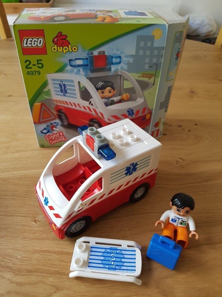 Lego Duplo Cars Ambulance And Mixer Truck In Hucknall