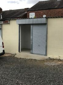 Secure storage unit in compound