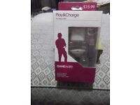 New, sealed GAMEWARE white Xbox 360 Play & Charge Kit