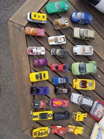 Matchbox hotwheels burago vintage car collection from 1979+ rare collectable
