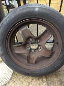 Vauxhall vectra wheel /tyre