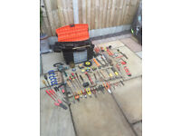 tool box full of tools (please see photos)