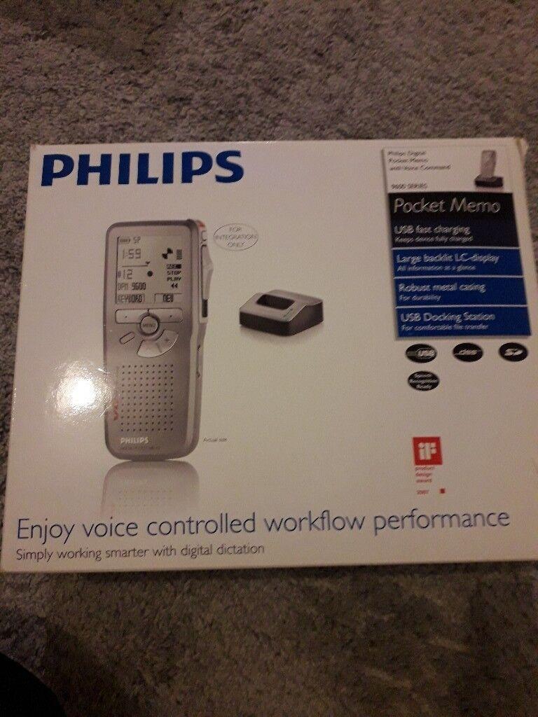 Philips pocket memo 9600 series