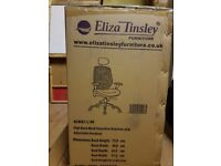 New office high back chair in box
