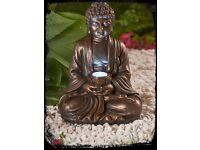 Solar Powered Buddha Light